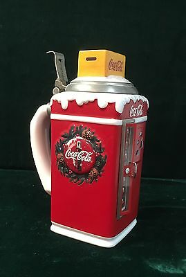 Coca Cola Vending Machine Christmas Stein by Anheuser Busch - New