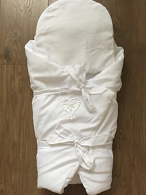 Newborn Swaddle Wrap/ Sleeping Bag/ Becik Perfect For Christening