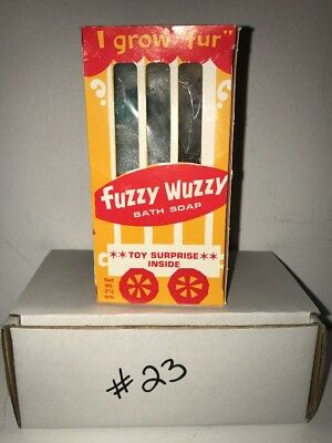 New Vintage POODLE Fuzzy Wuzzy Bath Soap They Grow Fur Surprise Toy Inside #23