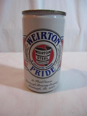 Vintage 1984 Weirton Steel Pittsburgh Brewing IRON CITY Beer Can Bank