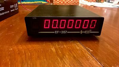 euroCB EF-357 In-line Frequency Counter for HF and CB Radios