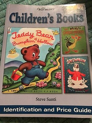 2007 Warman's Children's Books Identification And Price Guide By Steve Santi