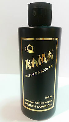 Kama perfumed Indian Love oil for Massage & Body *** Multipurpose, water soluble