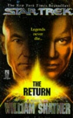 The Return (Star Trek) by Shatner, William Paperback Book The Cheap Fast Free