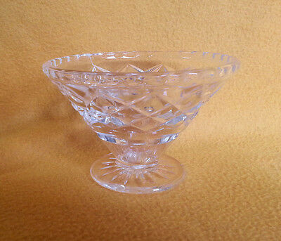 Depression Clear Glass Desert Dish VGC