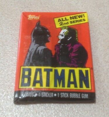 "1989 Topps ""Batman (The Movie) Series 2"" - Wax Pack (Batman/The Joker Variation)"