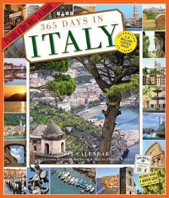 365 Days in Italy Picture-A-Day Wall Calendar 2018 9780761193838