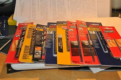 Lot of Drill Bits (assorted sizes) 50 pcs. / Reduced