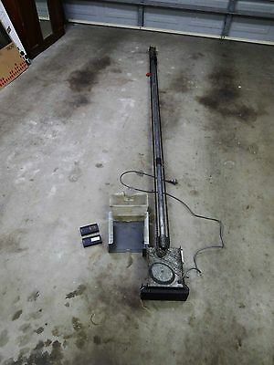 B&D MPC4 Motor, controller, remotes and mechanism for parts only.