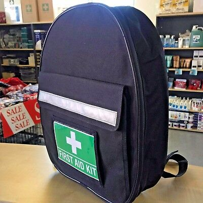 FIRST AID KIT BACKPACK DELUXE +FREE ITEMS 2-5 YR Shelf Life Code of Practice