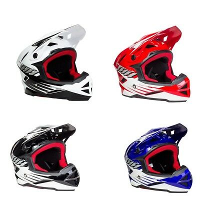 Thh T-42 V2 Bmx Mtb Full Face Helmet Adult