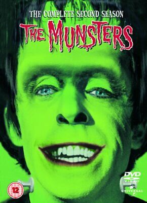 The Munsters: Series 2 (Box Set) [DVD] - DVD  1KVG The Cheap Fast Free Post