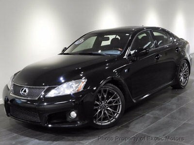2010 Lexus IS 4dr Sedan 2010 LEXUS IS F NAV REAR-CAMERA HEATED-SEATS MARK-LEVINSON 416HP 19-WHLS 1-OWNER