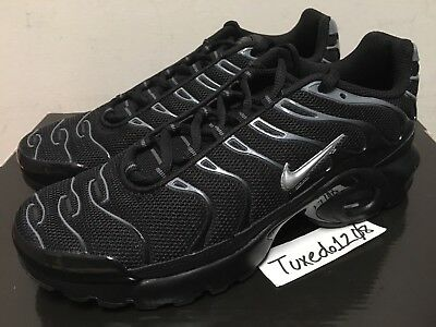 DS Nike Air Max Plus TN sz7Y Anthracite/Silver GS Grade School Youth 655020 090