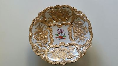 Gold Meissen Collector's Plate in Mint Condition