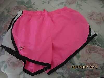Justice Shorts, Pink, Black White, Size 10