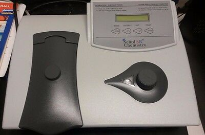 WOW! LITTLE USED Spectrophotometer Scholar