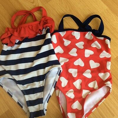 Girls swimming costume bundle 12-18 months