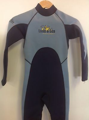 Land & Sea Kids-youth steamer wet suit size 12 BNWT