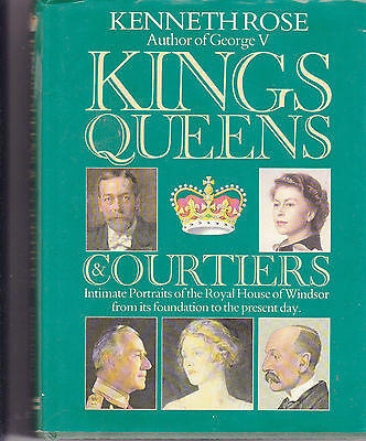ROYAL FAMILY COLLECTORS BOOK: KINGS, QUEENS & COURTIERS by Kenneth Rose 1985