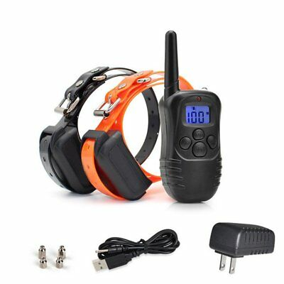 330Yard Electric Remote Dog Training Collar Rechargeable Shock Collar Waterproof