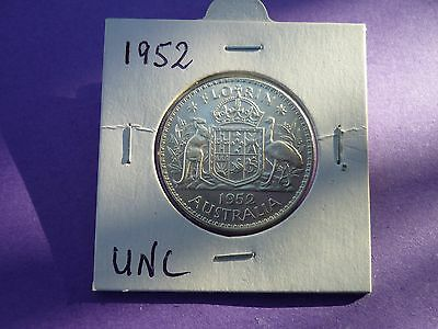 1952  AUSTRALIAN  FLORIN  UNC   Value $175
