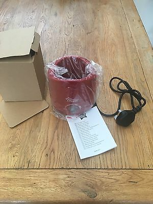 Red Tommee Tippee Food And Bottle Warmer