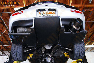 MAZDA RX-7 REAR Diffuser + Brackets Included Top Secret Style for Racing v6
