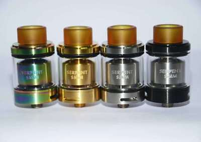 Serpent SMM RTA 24MM Diameter SS/BLACK/GOLD/Rainbow