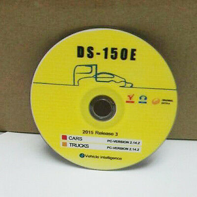 New Version Software 2015.R3 Gift with Keygen for Delphi cars on CD DVD VD TCS