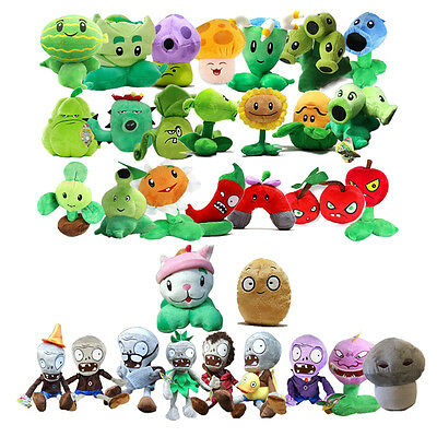 PLANTS vs. ZOMBIES Series PVZ Soft Plush Stuffed Doll Funny Toy Fashion