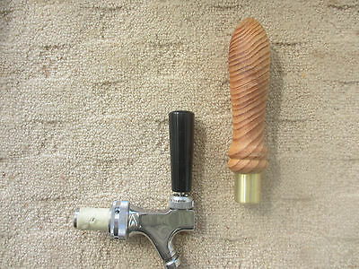 Hand crafted Wooden beer tap handle
