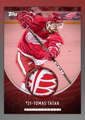 Tatar Home Relic Limited Insert (100cc)- Topps Skate Digital Hockey Card