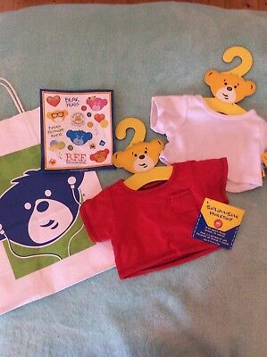 BRAND NEW Build A Bear T-shirts