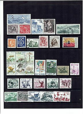Sweden Stamps 1978 Year set Used.
