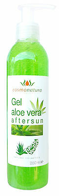 After Sun Aloe Vera Gel 100% 250 ml mit Spender von Fuerteventura