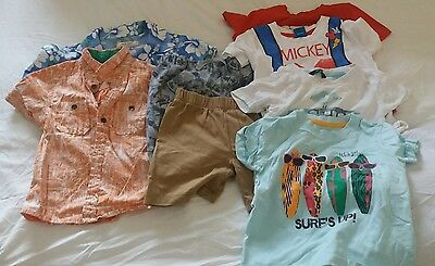 18-24 months - 8 piece boys clothes bundle