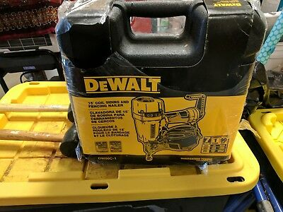 DeWalt 15-degree coil siding and fence nailer