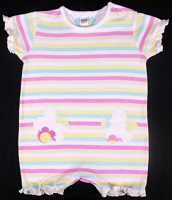 Next baby girl romper all in one 6-9 month