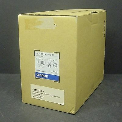 2014 New Omron 3G3JX-A4040-EF Hitachi X200-040HFEF2 AC Inverter Drive 4kW 3PH