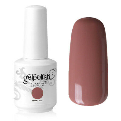Soak Off UV LED Gel Polish 15ml Color Coat Manicure Varnish uk Stock 1543 Nude