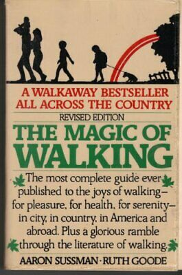 The Magic of Walking by Goode, Ruth Book The Cheap Fast Free Post