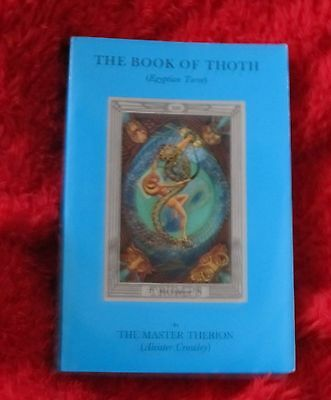 The Book Of Thoth ALEISTER CROWLEY Weiser 1995 Vintage Edition VG+