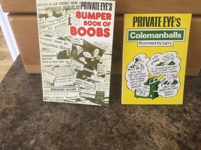 Private Eye's Books x 2