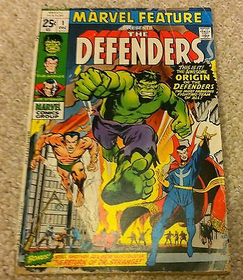 1971 Marvel Feature The Defenders #1 1St Appearance