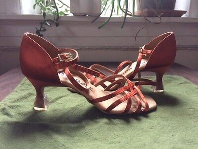 Ray Rose Latin Dance Shoes, size 3 1/2