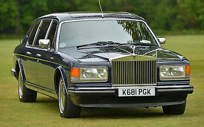 1993 Rolls-Royce Silver Spur III Mulliner Touring Limousine