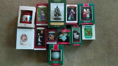 hallmark keepsake ornament lot