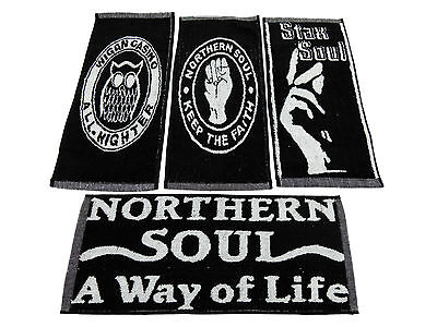 4 Northern Soul Bar Pub Kneipe Towel Tücher Wigan Casino Mod Skinhead Scooter