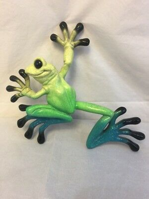Starlite Kitty's Critters Little Lucy Ceramic Hanging Wall Frog Retired 2004